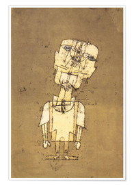 Póster  Ghost of a Genius - Paul Klee