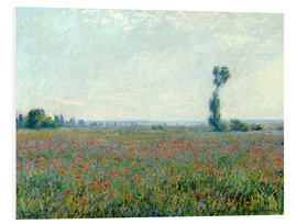 Cuadro de PVC  Field with poppies - Claude Monet