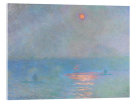 Cuadro de metacrilato  Waterloo Bridge - Claude Monet