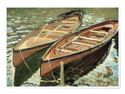 Póster Boats