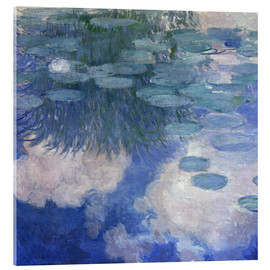 Cuadro de metacrilato  Waterlilies - Claude Monet