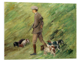 Cuadro de PVC  Hunter in the Dunes - Max Liebermann