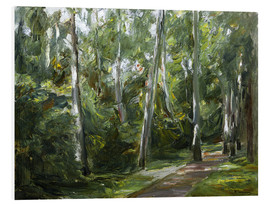 Cuadro de PVC  Birch Grove in Wannsee - Max Liebermann