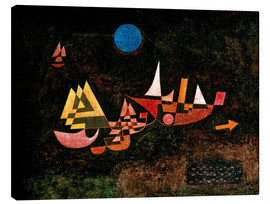 Lienzo  Ships setting Sail - Paul Klee