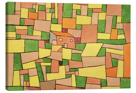 Lienzo  Country House of Thomas R. - Paul Klee