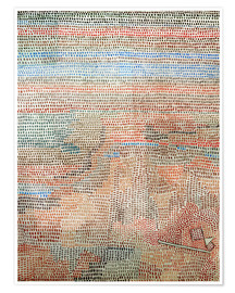 Póster  the whole dawning - Paul Klee
