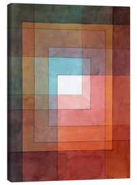 Lienzo  White Framed Polyphonically - Paul Klee