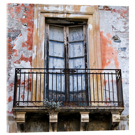 Cuadro de metacrilato  Magical sicilian house facade - CAPTAIN SILVA