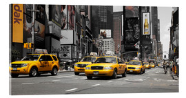Hannes Cmarits - New York City -Yellow Cabs