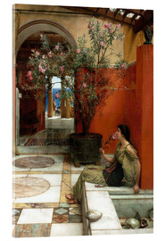 Metacrilato  The Oleander - Lawrence Alma-Tadema