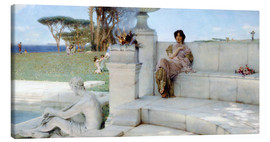 Lienzo  The Voice of Spring. - Lawrence Alma-Tadema