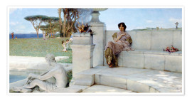 Póster  The Voice of Spring. - Lawrence Alma-Tadema