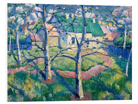 Cuadro de PVC  Apple Trees in Blossom - Kasimir Sewerinowitsch  Malewitsch