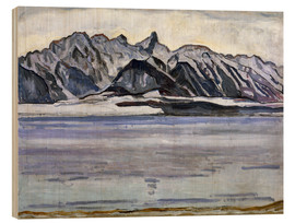 Madera  Stockhorn Range in Winter - Ferdinand Hodler