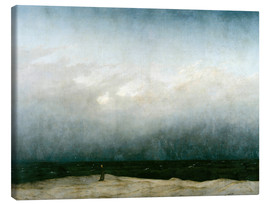 Lienzo  Monk by the Sea - Caspar David Friedrich