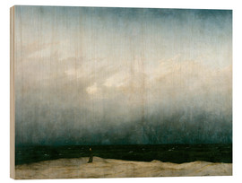 Madera  Monk by the Sea - Caspar David Friedrich
