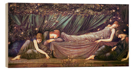 Madera  Briar Rose - The Rose Bower - Edward Burne-Jones