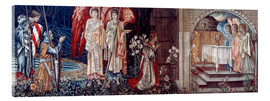 Cuadro de metacrilato  Tapestry, 1890. - Edward Burne-Jones
