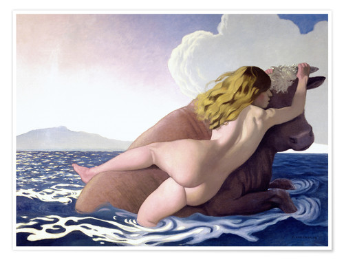 Póster The Abduction of Europa