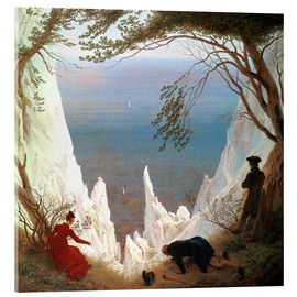Metacrilato  White Cliffs of Ruegen - Caspar David Friedrich