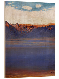 Madera  Lake Geneva and Savoy - Ferdinand Hodler