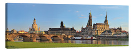 Lienzo  Dresden Canaletto view - FineArt Panorama