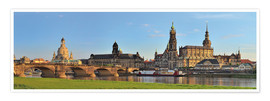 Póster  Dresden Canaletto view - FineArt Panorama
