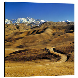 Aluminio-Dibond  Road leads to the Hindu Kush - Ric Ergenbright