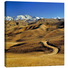 Lienzo  Road leads to the Hindu Kush - Ric Ergenbright