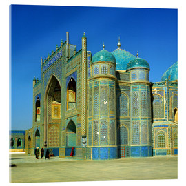 Metacrilato  The Shrine of Hazrat Ali in Mazar-i Sharif in Afghanistan - Ric Ergenbright