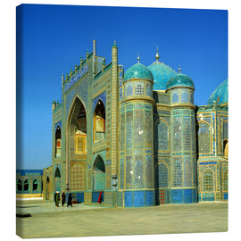 Lienzo  The Shrine of Hazrat Ali in Mazar-i Sharif in Afghanistan - Ric Ergenbright