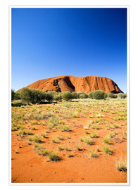 Póster Ayers Rock