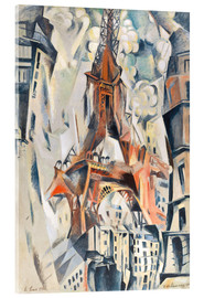 Robert Delaunay - The Eiffel Tower