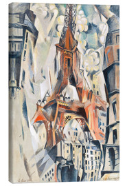 Lienzo  The Eiffel Tower - Robert Delaunay