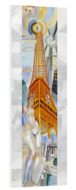 Cuadro de PVC  The woman and the tower - Robert Delaunay