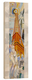 Cuadro de madera  The woman and the tower - Robert Delaunay