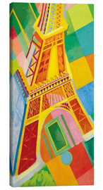 Lienzo  Eiffel Tower - Robert Delaunay
