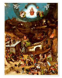 Póster  The Last Judgement - Hieronymus Bosch