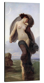 Cuadro de aluminio  Twilight - William Adolphe Bouguereau