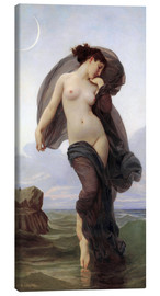 Lienzo  Atardecer - William Adolphe Bouguereau