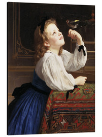 Cuadro de aluminio  Beloved Bird - William Adolphe Bouguereau