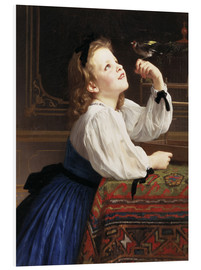 Cuadro de PVC  Beloved Bird - William Adolphe Bouguereau