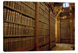 Lienzo  Old Library of Melk Abbey - Cindy Miller Hopkins