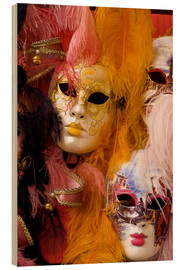 Bill Bachmann - Colourful carnival masks from Venice
