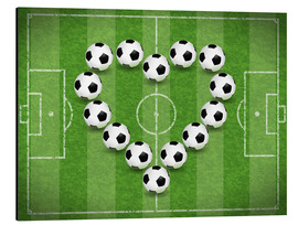Aluminio-Dibond  Love for Soccer - TAlex