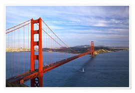 Póster  Puente golden gate - Chuck Haney
