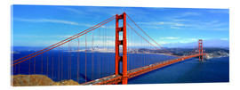 Cuadro de metacrilato  The impressive Golden Gate Bridge - Ric Ergenbright