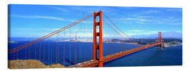 Lienzo  The impressive Golden Gate Bridge - Ric Ergenbright