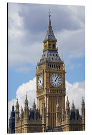 Cuadro de aluminio  The Big Ben and the Palace of Westminster - David Wall