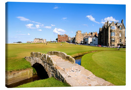 Lienzo  View of the Old Course at St. Andrews - Bill Bachmann